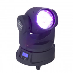 LED Beam Mobile Head with one 60W RGBW 4in1 LED Soundsation MHL-60 MKII