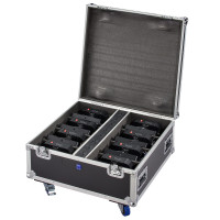 Flight Case for 8 5x18W / 5x10W Battery powered PARs Soundsation FC-8-PAR-BAT