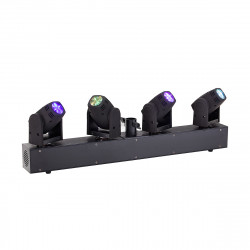 LED 4 Head Beam Moving Head 4X10W RGBW Cree Soundsation MHL-4H-BAR