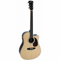 Soundsation CNE-500R Acoustic Guitar w/Bag