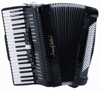 Soundsation SAC-41120-45-BK 4/5 Black Accordion